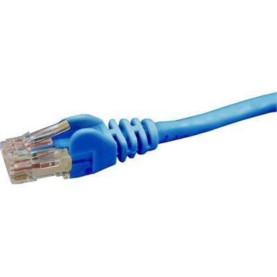 Dynamix 0.75M Cat6 Blue UTP Patch Lead (T568A Specification) 550MHz Slimline Snagless