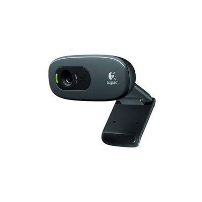 Logitech C270 HD WEBCAM HD 720p video calling & recording, 3.0mp software enhanced pics