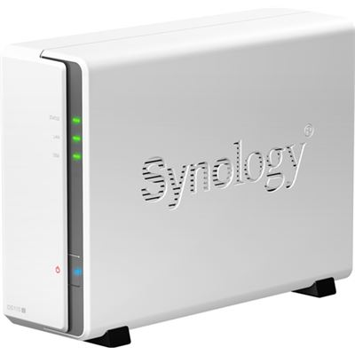 "Synology Diskstation 1Bay NAS, CPU:Marvell Armada 370 800MHz. 2.5"" & 3.5"" HDD Support"