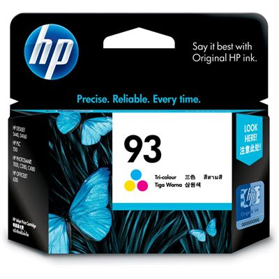 HP 93 Tricolor AP Inkjet Cartridge
