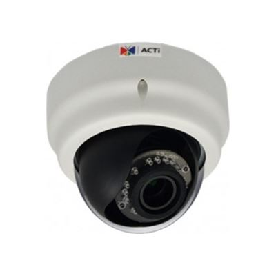 ACTi 3MP Indoor, Day/Night Dome Camera, IR, WDR, Vari-focal lens, DNR, MicroSDHC
