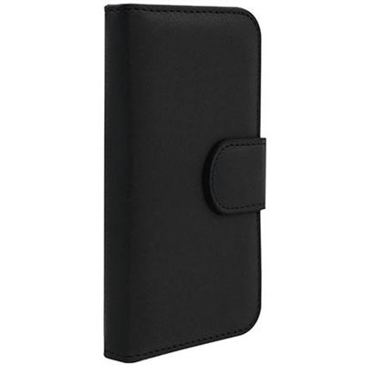 3SIXT Book Wallet - iPhone 5/5S - Black