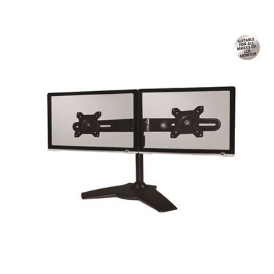 Aavara TS742 Dual LCD Stand with Tilt Swivel Rotation 100x100mm