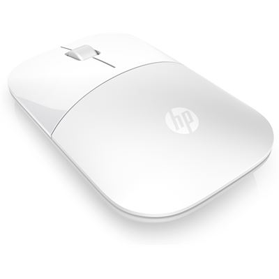 Z3700 White Glossy Wireless Mouse