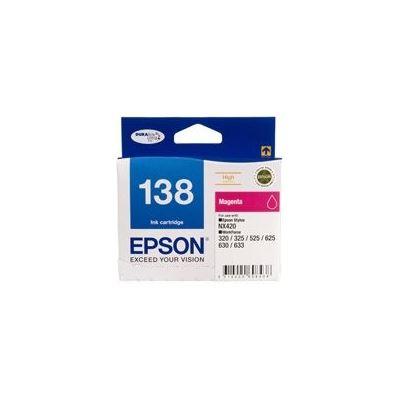 Epson 138 High Capacity Magenta ink cartridge Workforce 840 633 630 625 525 60 325