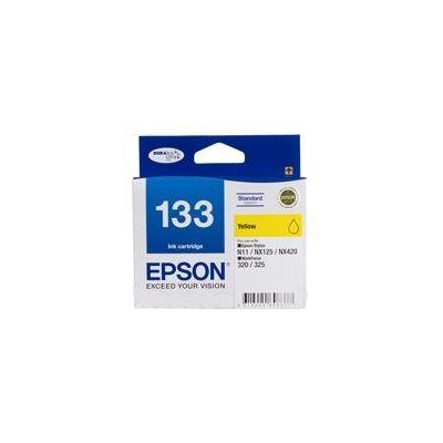Epson 133 Standard Yellow Ink Cartridge For Stylus N11, NX125, NX420, WORKFORCE 320