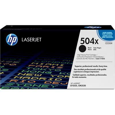HP 504X Black LaserJet Toner Cartridge