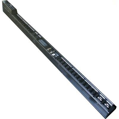 Delta 16A Vertical PDU (Half Rack) - 24x C13, 3x C19 Outlet