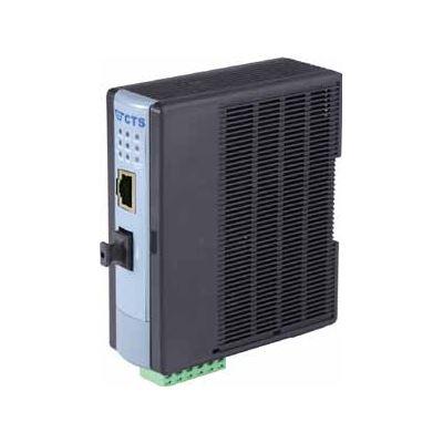 CTS Fast Ethernet PoE Fibre Media Converter. 10/100Base-TX to 100Base-FX. Built-in