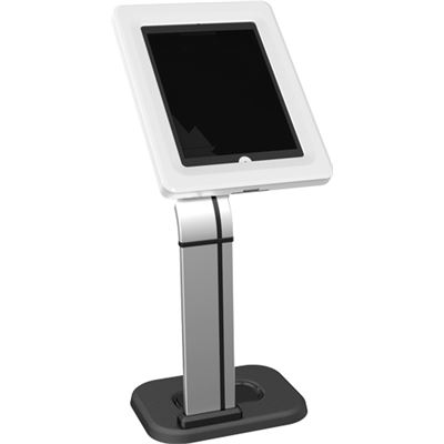 Brateck Universal iPad/Galaxy anti-theft table stand. VESA 75x75, 0/90deg rotation