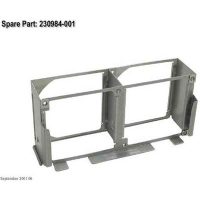 HP Rear fan cage - Two slots - 92 mm (3.6in) long
