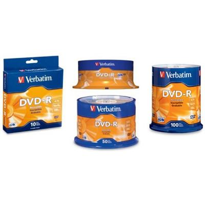 Verbatim DVD-R 50Pk Spindle - 4.7GB 16x