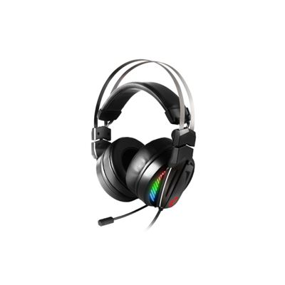 MSI Computer GAMING RGB STAINLESS STEEL HEADBAND 7.1 SURROUND SOUND SMART AUDIO CONTROLLER