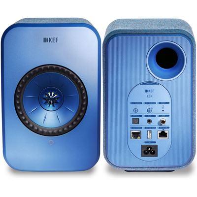 "KEF LSX Wireless Mini Monitor Speakers. 4"" Uni-Q driver, wireless pairing, Optical"