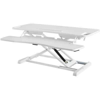 Brateck Gas Spring Sit-Stand Workstation. Height adjustable 110-505mm Work surface size