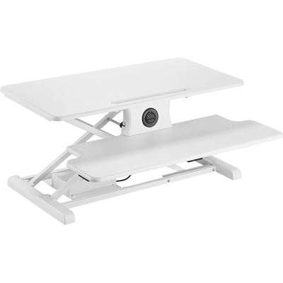 Brateck Electric Sit-Stand Workstation, Height adjustable 156-485mm Work surface size