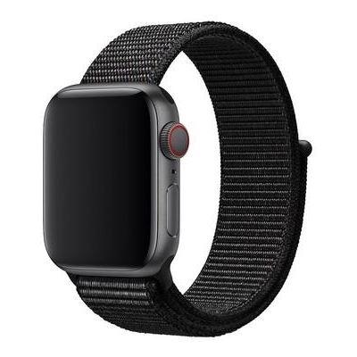 3SIXT Nylon Weave Band - Apple Watch 42/44mm - Black