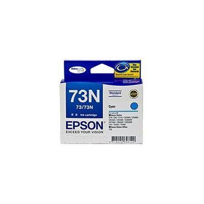 Epson 73/73N Cyan Ink Cartridge For Stylus C79, C90, C110, T20, T21, CX3900, CX4900
