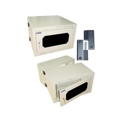 "E-TEC 19"" WALL MOUNT ENCLOSURES with Lockable Perspex Door and Swing Frame ( 6U x"