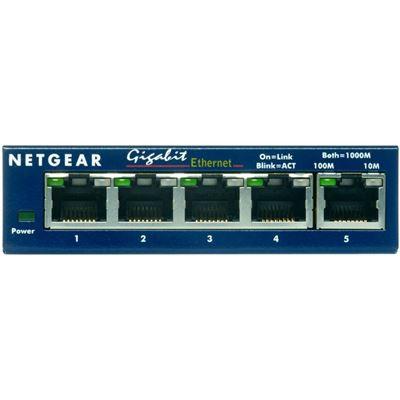 Netgear GS105 Switch 5 x Gigabit + GA311 Gigabit PCI NIC