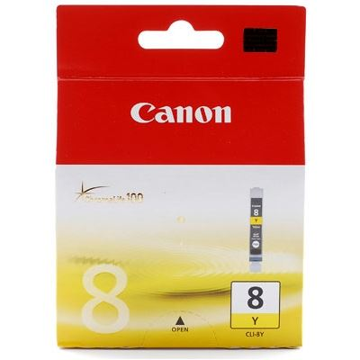 Canon Yellow CLI8Y Ink Cartridge For IP4200 4300 4500 5200 6600D 6700D 3300 3500