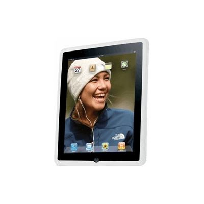 Gecko Glove - iPad Silicone Case - Frost - inc Clear Guard