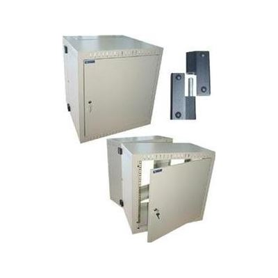"E-TEC 19"" WALL MOUNT ENCLOSURES with Lockable Steel Door and Swing Frame (12U x 600mm)"