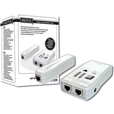 Digitus Cable Tester/RJ45/RJ12/RJ11 & BNC