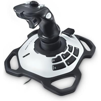 Logitech EXTREME 3D PRO JOYSTICK For PC/MAC, advanced controls, twist-handle, 12 buttons