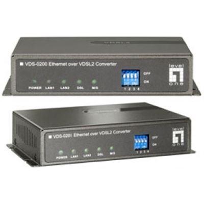 Level One Ethernet over VDSL2 Extender Pair, Pre configured for Point-to-PoInternational