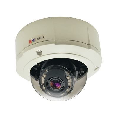 ACTi CAMERA B81 ZOOM DOME OUTDOOR 5MP WDR IR