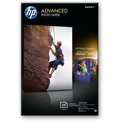 HP Photo Paper Glossy 250gsm 6x4 25pk