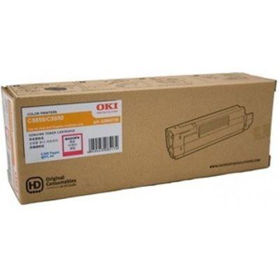 OKI Magenta toner 6k pg OKI C5850/5950/MC560
