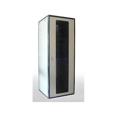 E-TEC 45U 800mm x 900mm Comms Enclosure Perspex Front Door / Steel Rear Door (Fully