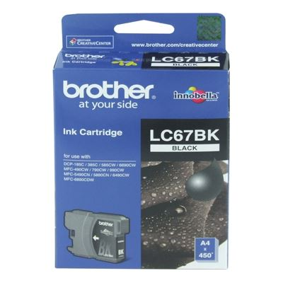Brother LC67 Black Ink Cartridge