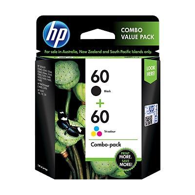 HP 60 Print Cartridge Combo Pack