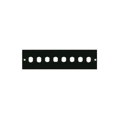 E-TEC 1U 24 Port Pull & Drop Fibre Tray and Accessory Front Panels (Face Plate 'C'
