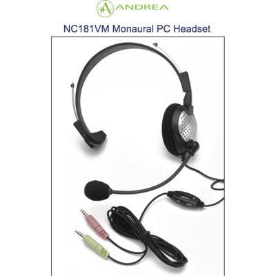 Andrea NC-181VM Mono USB Headset