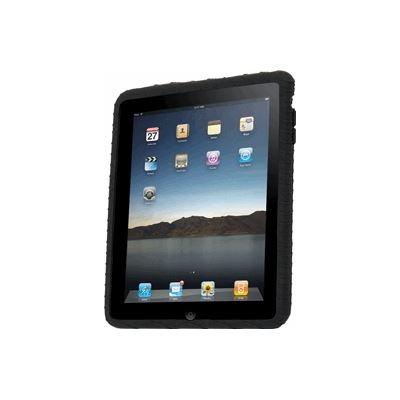 Gecko Glove - iPad Silicone Case - Black - inc Clear Guard