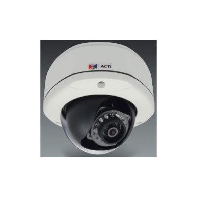 ACTi 10MP Indoor/Outdoor, Day/Night Dome Camera, 4K/1080p, Super Wide Angle Fixed