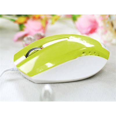 E-BLUE wired usb Mouse Green