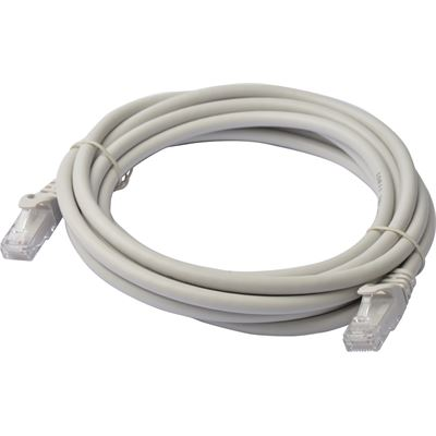 8 Ware Cat 6a UTP Ethernet Cable; Snaglessÿ - 3m Grey