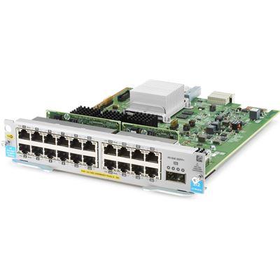 HPE 20P POE+ / 1P 40GBE QSFP+ V3 ZL2 MOD