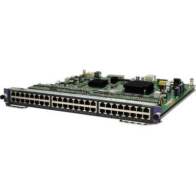 HPE 7500 48-port 1000BASE-T PoE+ SC Module