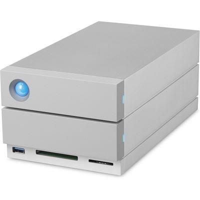 LaCie 2BIG DOCK 8TB THUNDERBOLT3, USB3.0, USB-C, DISPLAY PORT, CARD READER, 3YR