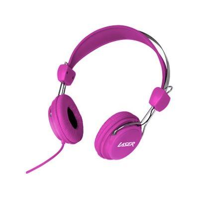 Laser Headphones Stereo Kids Friendly Colourfu