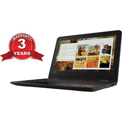 "Lenovo 11e Windows G5 - N4120. 11.6"" HD, 4GB ram, 128GB ssd, Windows 10, with 3 year"