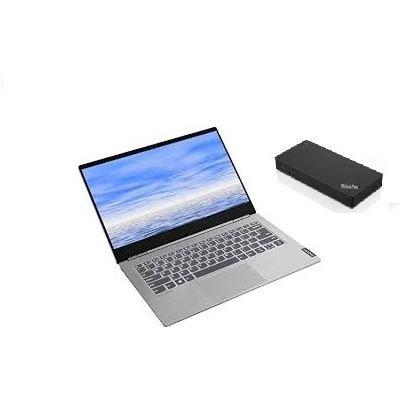 "Lenovo THINKBOOK 14 (I5-10210U/14"" IPS FHD/8GB/256GB/W10P/1YOS) + FREE USB-C DOCK"