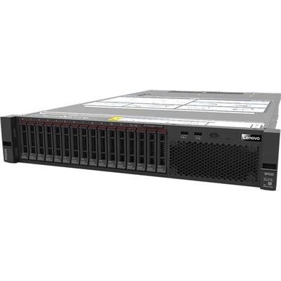 """Lenovo 2U Rack Server SR550 Silver 4110 8C, 16GB, 8x2.5""""HS, R530-8I, 750W PLAT HS, NO"""