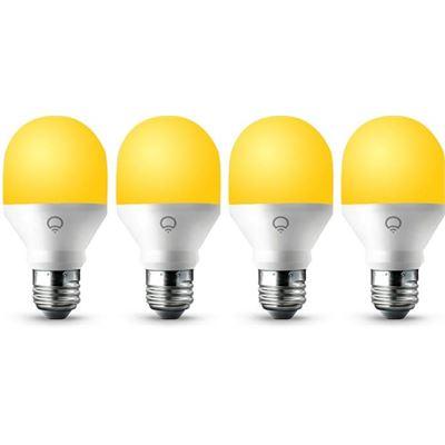 LIFX 4 Pack LIFX Mini Day & Dusk WiFi LED Light Bulb E27 Screw
